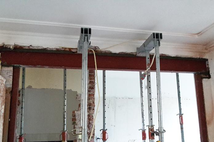 portaal in woonhuis laten maken metaalbewerking staalbewerking metaalbewerkingsbedrijf maartensdijk vlastech