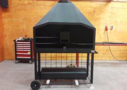 BBQ laten maken buitenkeuken monteren maatwerk metaalbewerking staalbewerking vlastech